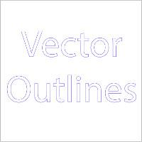 vectoroutlines200