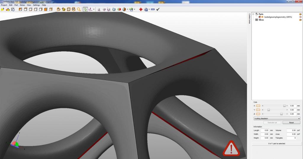 Repairing 3D Files for Printing - Make Mode