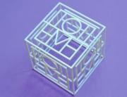 3d printed cube