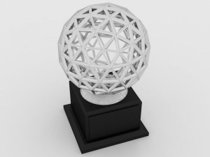 3D Modeled Tropy - Dome