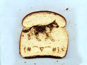 Laser Etched Toast